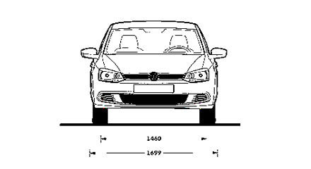 Размеры Volkswagen Polo Sedan
