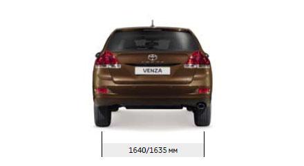 Технические характеристики Toyota Venza / Тойота Венза ...